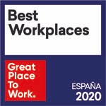 Award best place to work 2020